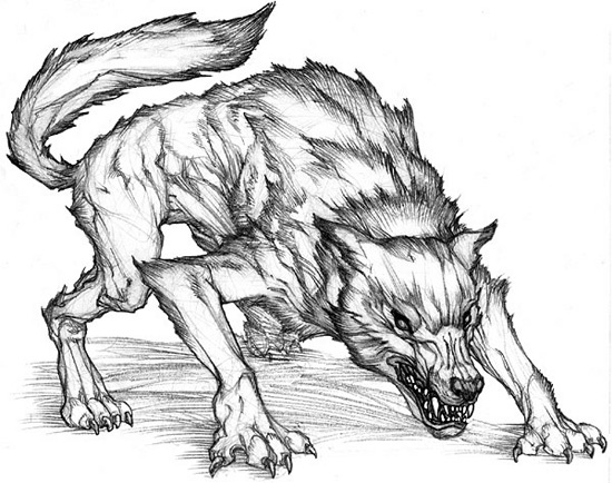 demonwolf by Solidox93