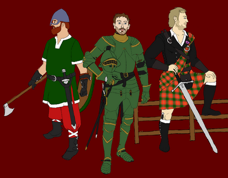 Medieval Achievement Hunters: Gents