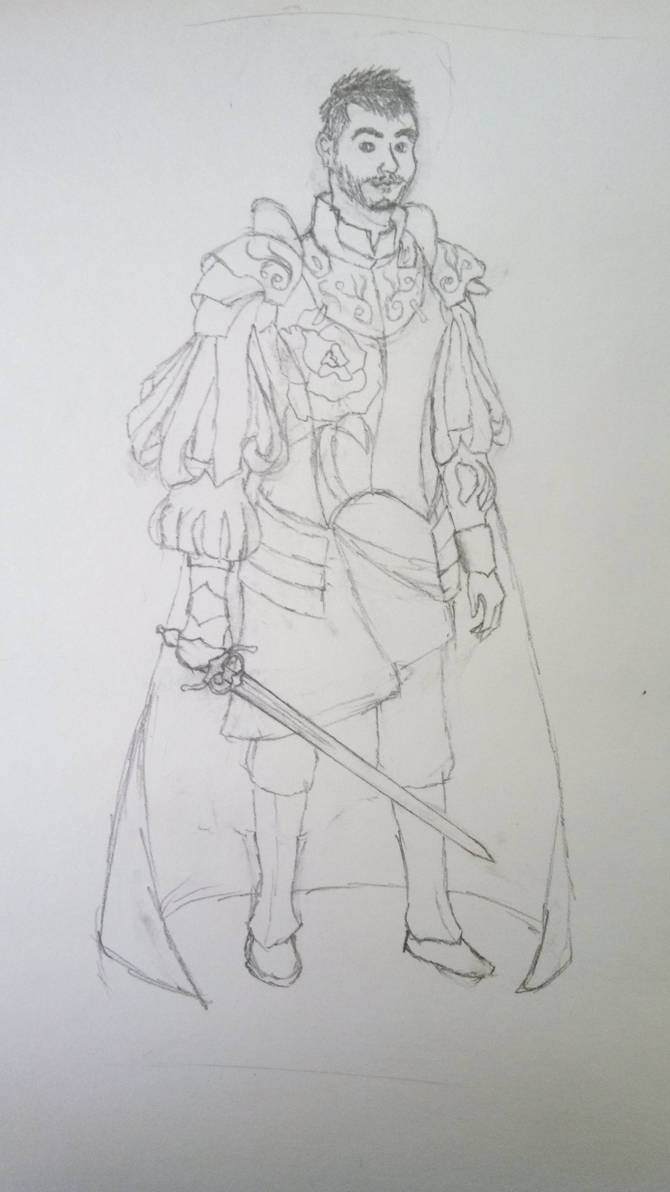 Medieval Achievement Hunters: Ray Sketch