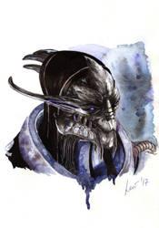Saren (one more portrait of a villain) by lariel-istime