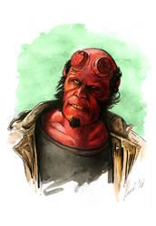 Hellboy by lariel-istime