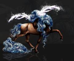Horse deer by x-machiatto-x