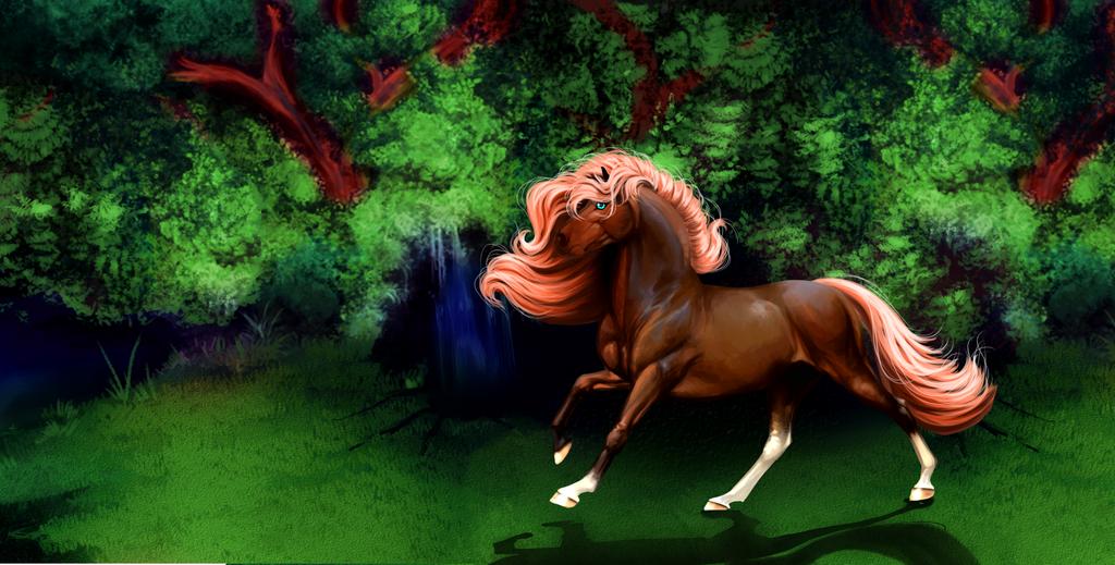 Forest Pony by x-machiatto-x