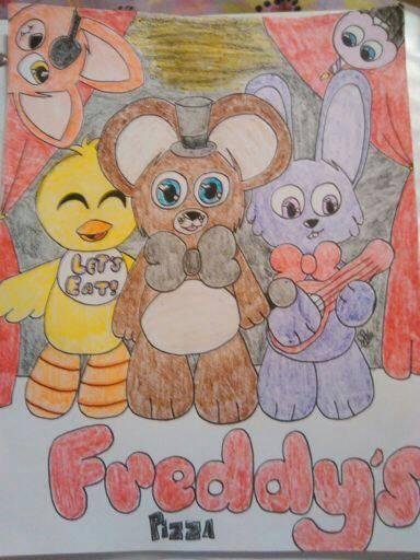 FNAF fan art  by soma4900