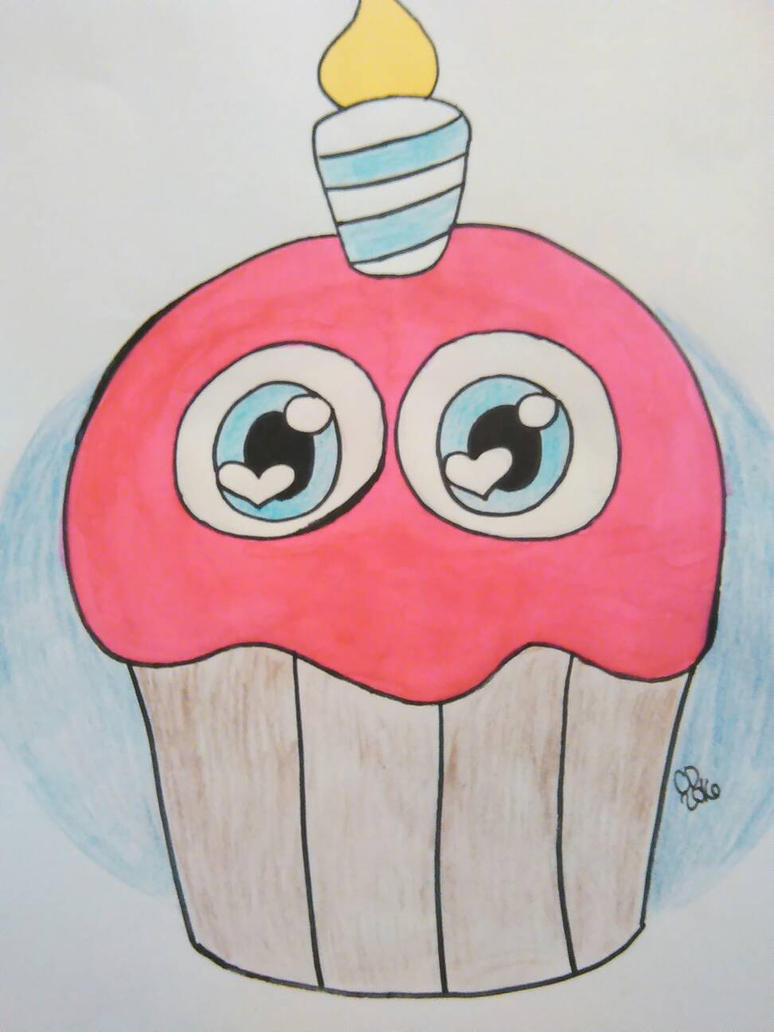 Carl the cupcake  by soma4900