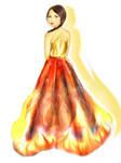 Katniss Everdeen : The Girl on Fire