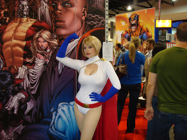 Power Girl by BlueWolfD