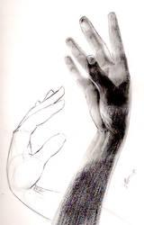 Gesture drawings by Eggpoacher