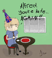 APH: Happy LATE B-day Iggy by ChocolateWitch