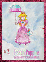 Peach Poppins by GafanhotoVerde