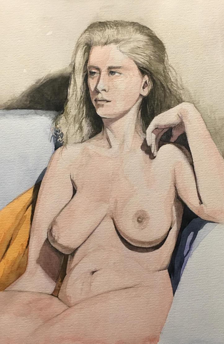 Portrait of Anna by cgyradier