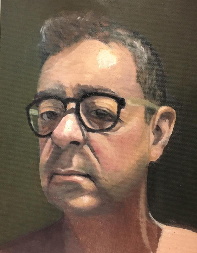 Self portrait by cgyradier