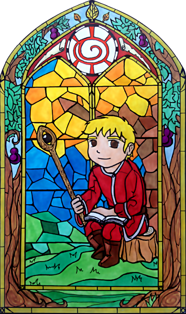 Garizole Stained Glass by silverwatermist