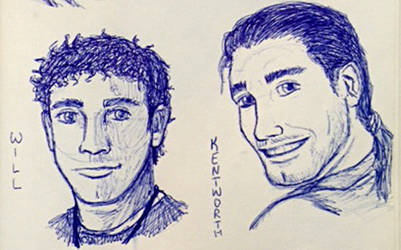 Will and Kentworth realistic sketches