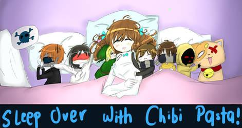 Ika WIth Chibi Pasta Sleep Over~!