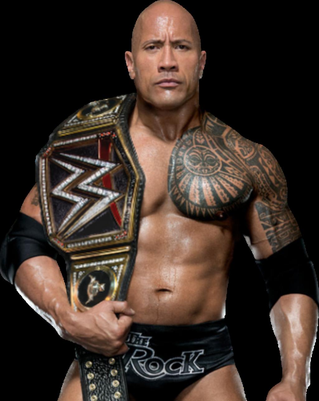 The Rock WWE Champion 2017 by NuruddinAyobWWE on DeviantArt