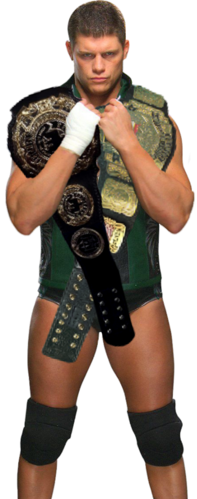Cody Rhodes Progress Champion and WCW US Champion by