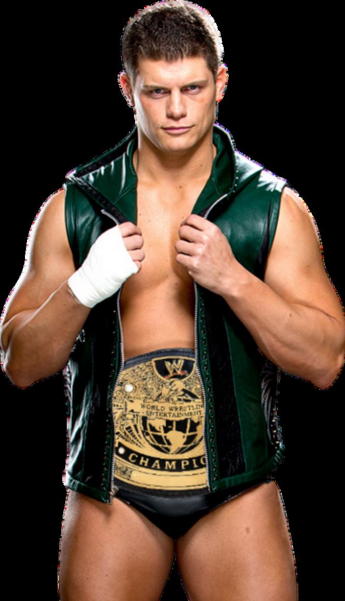 Cody Rhodes WWE Champion 2004 by NuruddinAyobWWE on DeviantArt