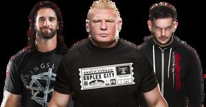 Seth Rollins Brock Lesnar Finn Balor 2017