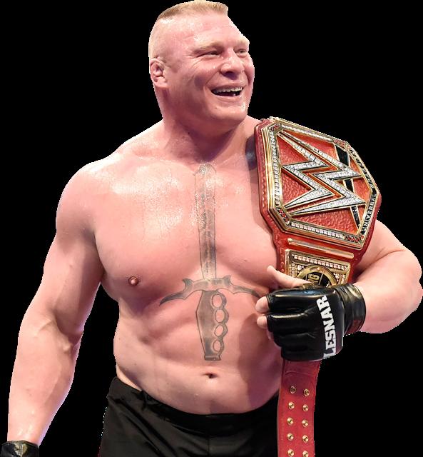 Brock Lesnar WWE Universal Champion V2 By NuruddinAyobWWE