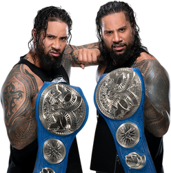 The Usos Hall of SD Live Tag Team Champions by NuruddinAyobWWE