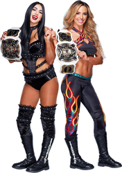 The Iiconics WWE Women's Tag Team Champions by NuruddinAyobWWE