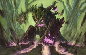 Maokai, Smasher of the Arcane by fenrysk-art