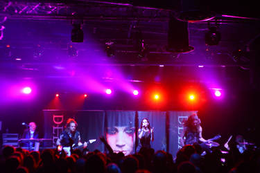 Delain @ Baltimore Soundstage 6 by fenrysk-art
