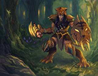 Jungle Shaman [Reckless Deck] by fenrysk-art