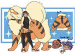 Pokemon Outfits - Arcanine by T-M-Wolf