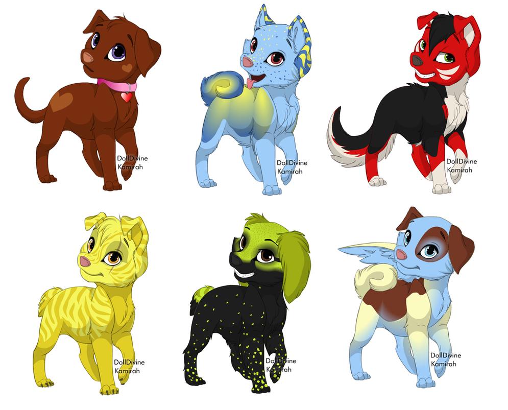 Free Dog Adopts (CLOSED) by xXSoft-SilenceXx