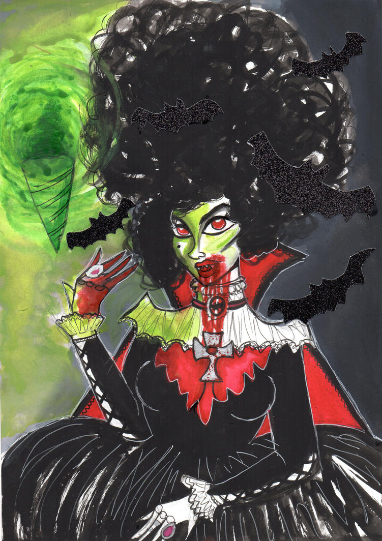 Vampire Queen by uumbrella