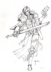 Sororitas Cone: quick sketch