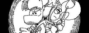 Rayman and Barbara by Ravingjur1087
