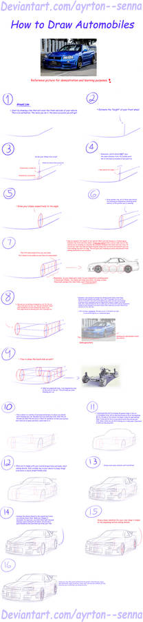 How to Draw Automobiles