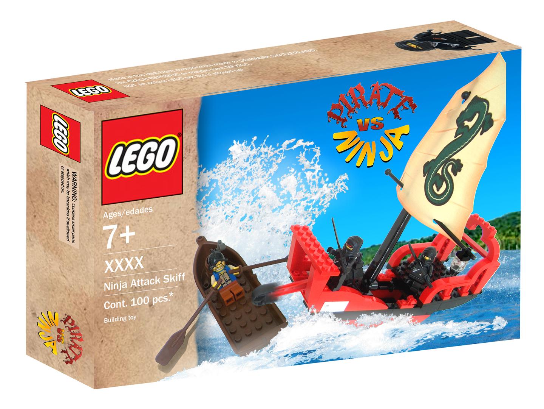 lego pirate vs ninja ii by antvar - Lego Pirate