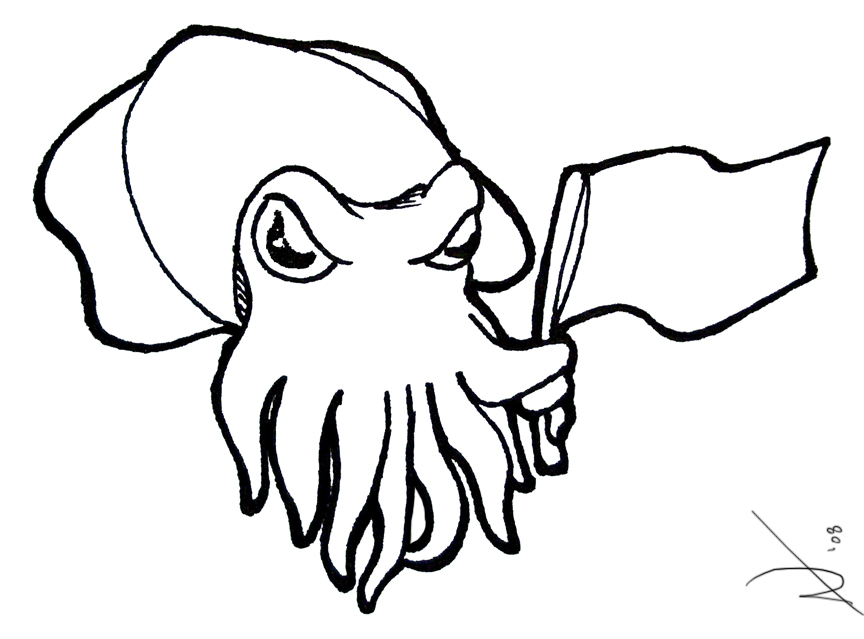 cuttlefish coloring pages cuttlefish outline