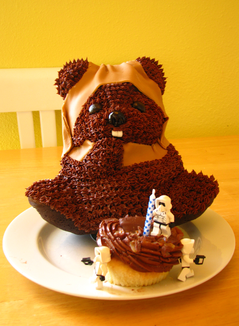 Ewok Birthday Cake