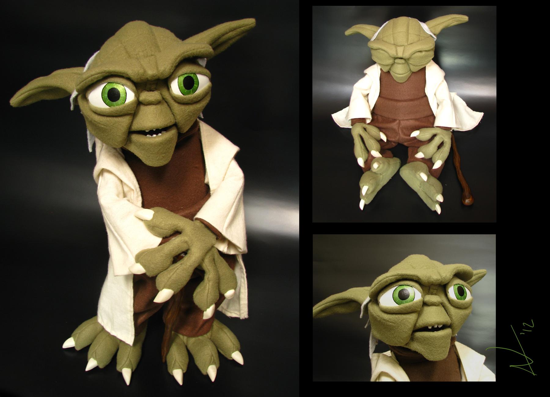 Master Yoda by AntVar