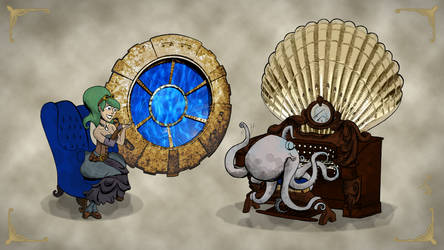 Brian Kesinger's Otto and Victoria by AntVar