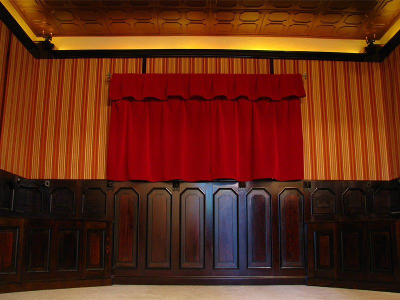 My Haunted Mansion Home Theater by AntVar