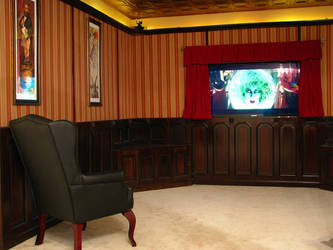 My Haunted Mansion Home Theater 2 by AntVar