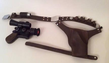 Li'l Han Solo's Gun Belt by AntVar
