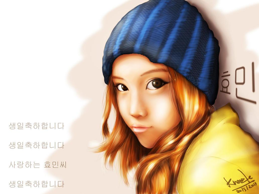 hyomin by kneaz