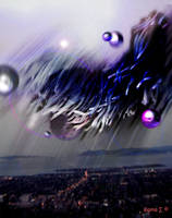 Yog-Sothoth over the bay by sigmanus
