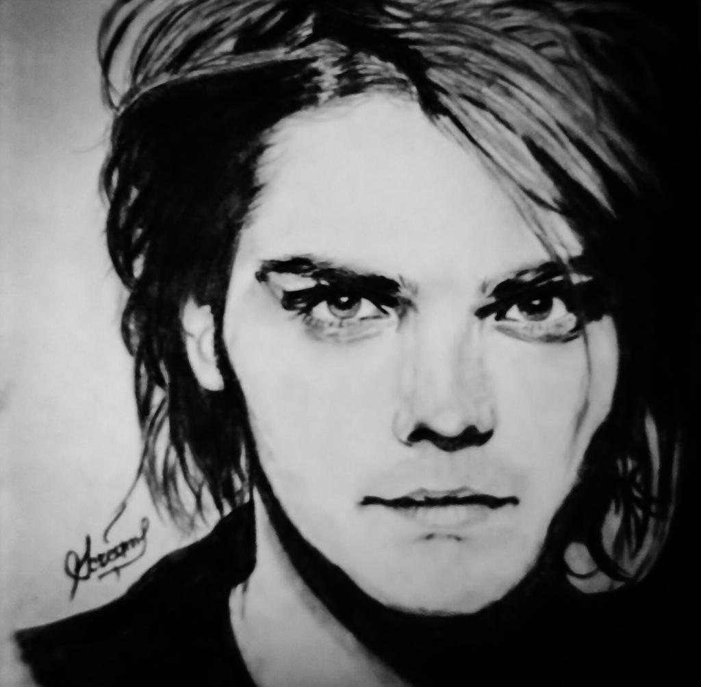 Gerard Way With Red Hair Picture