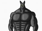 Black Cat (Old Art) by MuscleRabbit9090