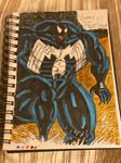 Venom Traditional (Old Art)  by MuscleRabbit9090