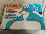 Heroes Comic Project Lucas Werewolf Traditional by MuscleRabbit9090