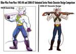 BMFM 1993-96 2006-07 Vinnie Comparison by MuscleRabbit9090